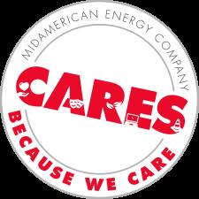 [decorative element] CARES - Because we care logo