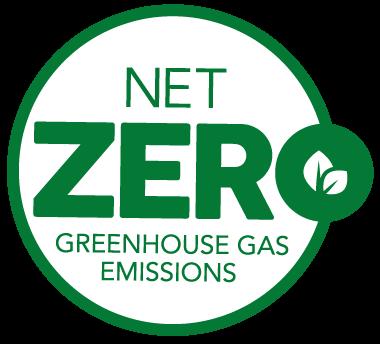 Net Zero Greenhouse Gas Emissions logo
