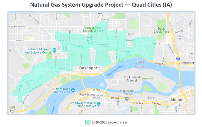 Natural Gas System Project