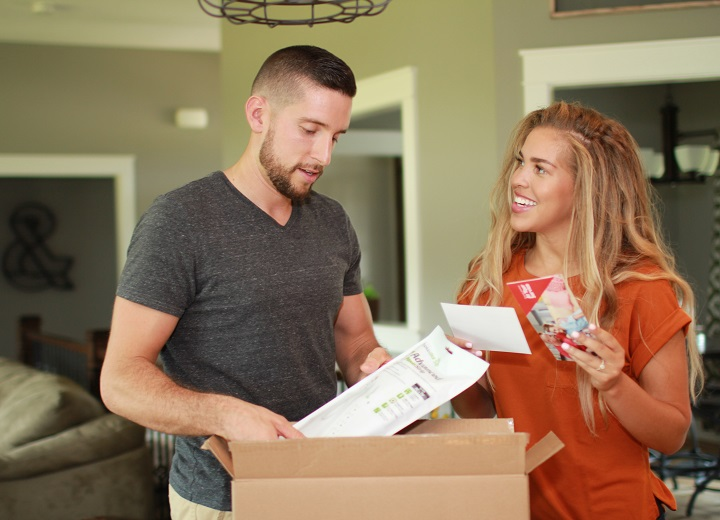 Couple opens energy efficiency kits