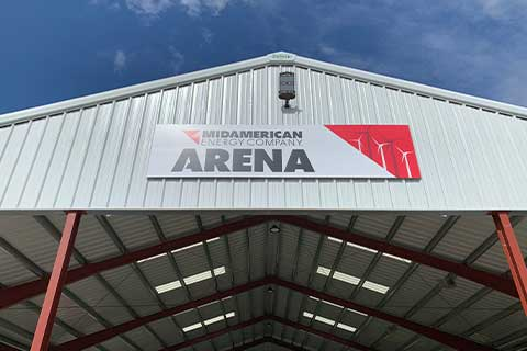 MidAmerican Energy Arena in Adair County