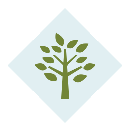 Icon of green tree